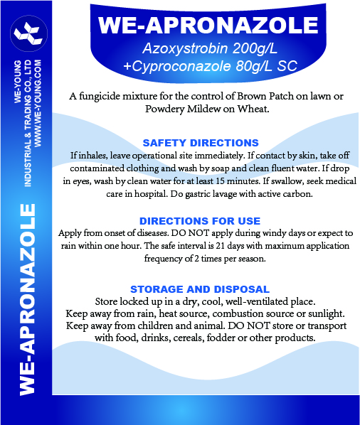 Azoxystrobin+Cyproconazole